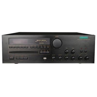 MP7812 60W-350W 2 Zonas todo en un amplificador mezclador con CD / DVD / MP3 / Tuner