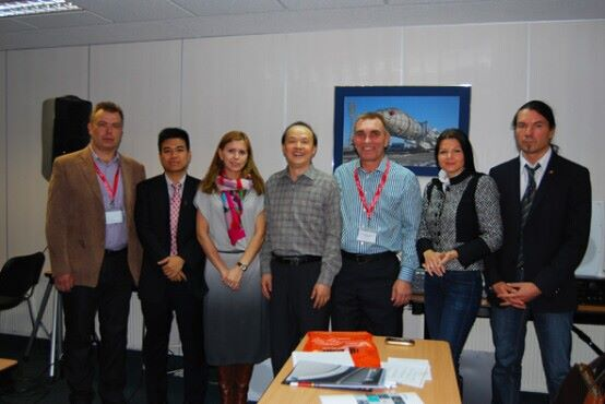Representatives of DSPPA and Russian partner
