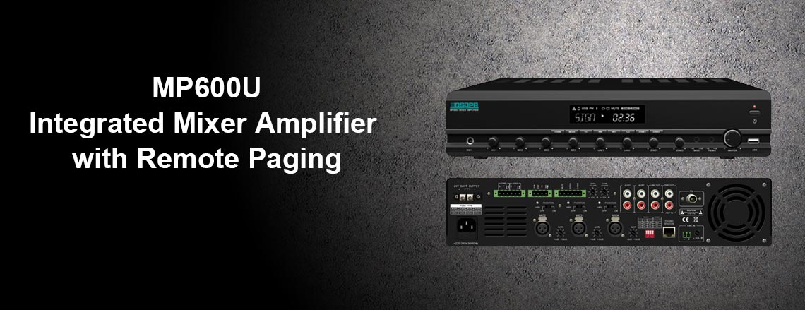 Integrated  Mixer Amplifier